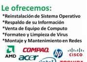 Venta y reparacion de computadoras