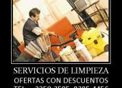 Servicios profesionales de limpieza