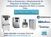 Reparacion y mantenimiento de maquinas de helados