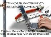 mantenimiento residencial y comercial técnicos 24 horas