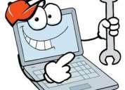 Reparación de laptops y venta con instalación de cámaras de seguridad.